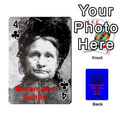 Ancestor Cards W/ Everyone By Darin Kerr   Playing Cards 54 Designs   15zv6fcny6zl   Www Artscow Com Front - Club4