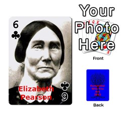 Ancestor Cards W/ Everyone By Darin Kerr   Playing Cards 54 Designs   15zv6fcny6zl   Www Artscow Com Front - Club6