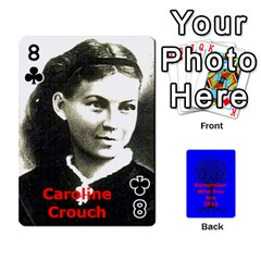 Ancestor Cards W/ Everyone By Darin Kerr   Playing Cards 54 Designs   15zv6fcny6zl   Www Artscow Com Front - Club8