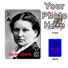 Ancestor Cards W/ Everyone By Darin Kerr   Playing Cards 54 Designs   15zv6fcny6zl   Www Artscow Com Front - Club10