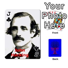 Jack Ancestor Cards W/ Everyone By Darin Kerr   Playing Cards 54 Designs   15zv6fcny6zl   Www Artscow Com Front - ClubJ