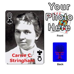 Queen Ancestor Cards W/ Everyone By Darin Kerr   Playing Cards 54 Designs   15zv6fcny6zl   Www Artscow Com Front - ClubQ