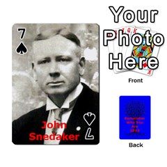 Ancestor Cards W/ Everyone By Darin Kerr   Playing Cards 54 Designs   15zv6fcny6zl   Www Artscow Com Front - Spade7