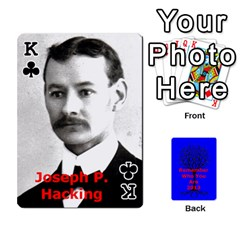 King Ancestor Cards W/ Everyone By Darin Kerr   Playing Cards 54 Designs   15zv6fcny6zl   Www Artscow Com Front - ClubK
