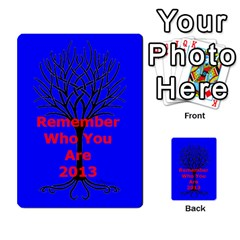 Ancestor Cards W/ Everyone By Darin Kerr   Playing Cards 54 Designs   15zv6fcny6zl   Www Artscow Com Back