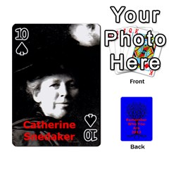 Ancestor Cards W/ Everyone By Darin Kerr   Playing Cards 54 Designs   15zv6fcny6zl   Www Artscow Com Front - Spade10