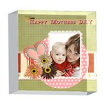 mothers day - 5  x 5  Acrylic Photo Block