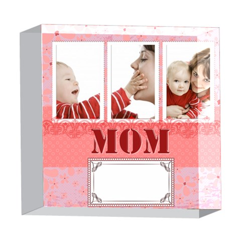 Mothers Day By Joely   5  X 5  Acrylic Photo Block   Ys8wbtxloe6x   Www Artscow Com Front