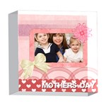 mothers day - 5  x 5  Acrylic Photo Block