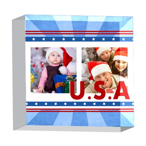 Usa By Mac Book   5  X 5  Acrylic Photo Block   2gy79x4n9043   Www Artscow Com Front