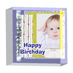 happy birthday - 5  x 5  Acrylic Photo Block