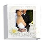 wedding - 5  x 5  Acrylic Photo Block