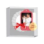 merry christmas, xmas, happy new year  - 4 x 4  Acrylic Photo Block