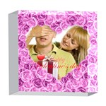 love - 5  x 5  Acrylic Photo Block