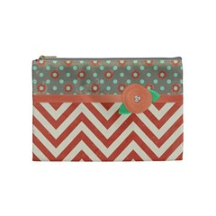 Makeup Bag By Emily   Cosmetic Bag (medium)   J7s4y412ufn0   Www Artscow Com Front