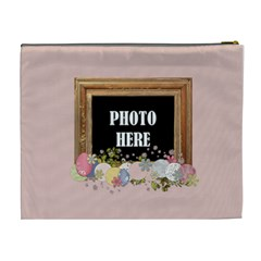 Time For Spring Xl Cosmetic Bag 1 By Lisa Minor   Cosmetic Bag (xl)   Tjowhjrnwe6n   Www Artscow Com Back