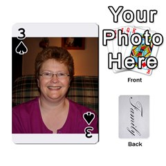 Gma Smith By Mary Jo   Playing Cards 54 Designs   Cgj7cg8mzvzc   Www Artscow Com Front - Spade3