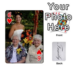Gma Smith By Mary Jo   Playing Cards 54 Designs   Cgj7cg8mzvzc   Www Artscow Com Front - Heart6