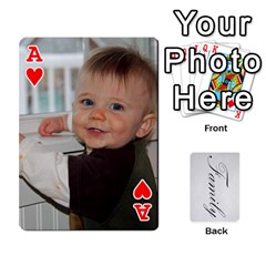 Ace Gma Smith By Mary Jo   Playing Cards 54 Designs   Cgj7cg8mzvzc   Www Artscow Com Front - HeartA