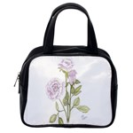 Spray Of Pink Roses Classic Handbag (One Side)