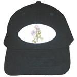 Spray Of Pink Roses Black Cap