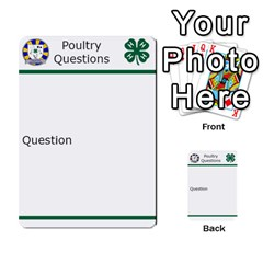 Poultry Question Cards By Lmw   Multi Purpose Cards (rectangle)   4zo8denyjrd7   Www Artscow Com Front 33