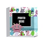 Monster Party Acrylic 4x4 1 - 4 x 4  Acrylic Photo Block