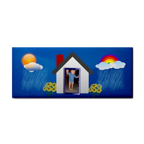 Rainbows And Showers Towel 2 By Joy Johns   Hand Towel   Xfcoqrjystyf   Www Artscow Com Front