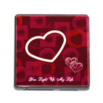You Light up my life memory card reader - Memory Card Reader (Square)