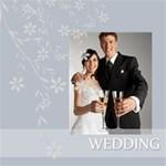 wedding - ScrapBook Page 8  x 8