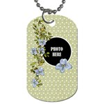 Time for Spring Dog Tag 3 - Dog Tag (One Side)