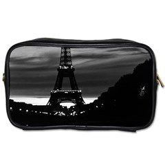 Vintage France Paris Eiffel Tower Reflection 1970 Single Sided Personal Care Bag by Vintagephotos