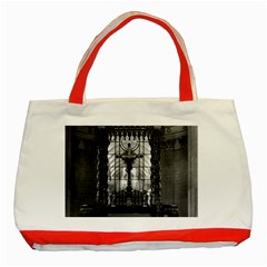 Vintage France Paris Royal Chapel Altar St James Palace Red Tote Bag by Vintagephotos