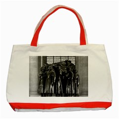 Vintage France Paris  Invalides Marshal Foch Tomb 1970 Red Tote Bag by Vintagephotos