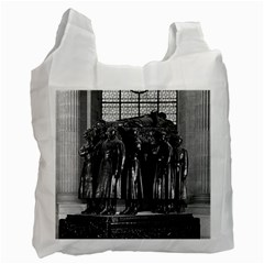 Vintage France Paris  Invalides Marshal Foch Tomb 1970 Single Sided Reusable Shopping Bag by Vintagephotos
