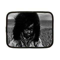Vintage Usa  Alaska Eskimo Boy 1970 7  Netbook Case by Vintagephotos