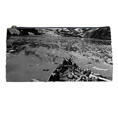 Vintage Alaska Glacier Bay National Monument 1970 Pencil Case by Vintagephotos