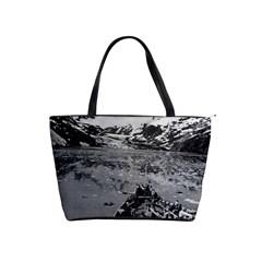 Vintage Alaska Glacier Bay National Monument 1970 Large Shoulder Bag by Vintagephotos