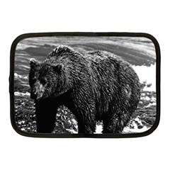 Vintage Usa Alaska Brown Bear 1970 10  Netbook Case