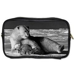 Vintage Usa Alaska Mother Polar Bear 1970 Single Sided Personal Care Bag by Vintagephotos