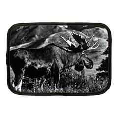 Vintage Usa Alaska Bull Moose 1970 10  Netbook Case
