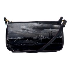 Vintage Uk England London The River Thames 1970 Evening Bag by Vintagephotos