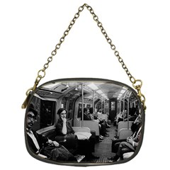 Vintage Uk  England Railway Inside Coach 1970 Single Sided Evening Purse by Vintagephotos