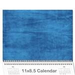 Family Calendar 2014 Updated - Wall Calendar 11  x 8.5  (12-Months)