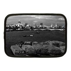 Vintage Uk England River Thames London Skyline City 10  Netbook Case by Vintagephotos