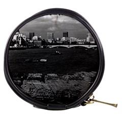 Vintage Uk England River Thames London Skyline City Mini Makeup Case by Vintagephotos
