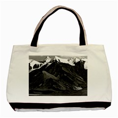 Vintage Usa Alaska Mt Mckinley National Park 1970 Black Tote Bag by Vintagephotos