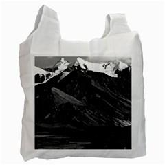 Vintage Usa Alaska Mt Mckinley National Park 1970 Twin Sided Reusable Shopping Bag by Vintagephotos