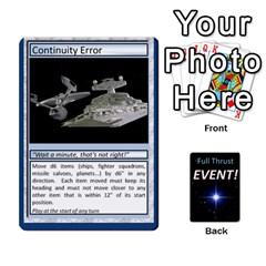 King Full Thrust Event Cards By Hugh Duggan   Playing Cards 54 Designs   Hp58ug5jugwr   Www Artscow Com Front - SpadeK