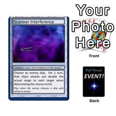 Jack Full Thrust Event Cards By Hugh Duggan   Playing Cards 54 Designs   Hp58ug5jugwr   Www Artscow Com Front - SpadeJ